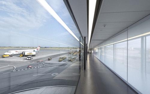 , Проектирование стеклянных аэропортов