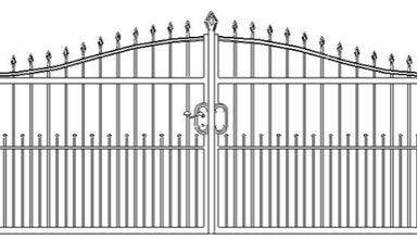 , Разновидности кованых ворот