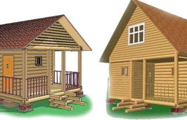 , Особенности домов ручной рубки