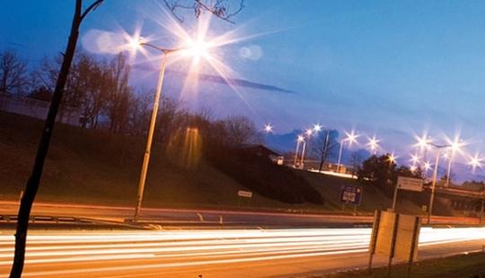 Освещение LED городских улиц
