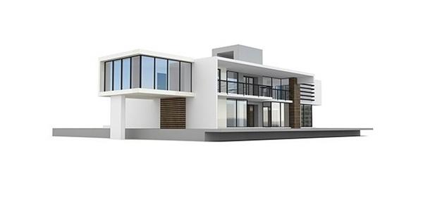 Алюминиевые фасады дома