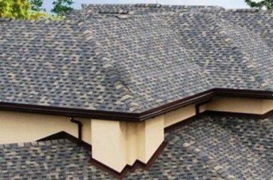 Крыша в битумной черепице