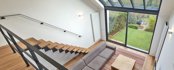 Окно лестница